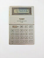 Vintage Casio LC-80 Mini-Card Electronic Calculator 1980 Rare