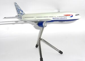 Boeing 777-200 British Airways Holland Pacmin Collectors Models Scale 1:200