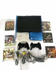 Sony Playstation PS3 Slim 500 Gb Console Job Lot Bundle With Built-in Games, Box