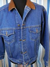 MENS JEAN JACKET SZ MED BY MARLBORO COUNTRY STORE      GREAT CONDITION!!!