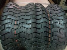 TWO 18/8.50-8 & TWO 15/6.00 6  Lawnmower Turf 4 ply Tubeless Tires