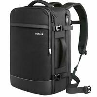 Inateck 40L-44L 17.3 Inch Professional Carry On Travel Backpack BP03003, Black