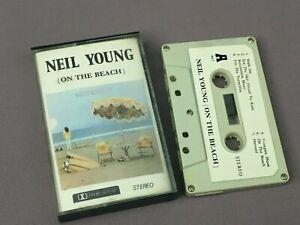 Vintage NEIL YOUNG Cassette TAPE Album, ON THE BEACH - Rare Version