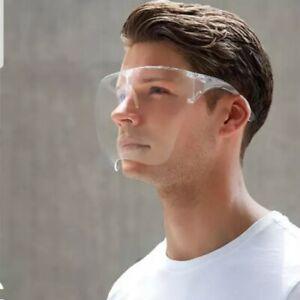 - NEW- 2021 Fashion Anti-Fog Face Cover Shield Protective MASK Sunglasses  Visor