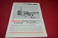Teagle Tumbel Bale Loader Dealers Brochure CDIL