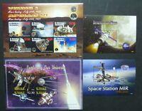 St. Vincent 2007 Raumfahrt Weltraumforschung Space 6332-6341 Block 669-670 MNH