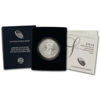 2014-W American Silver Eagle Uncirculated Collectors Burnished Coin