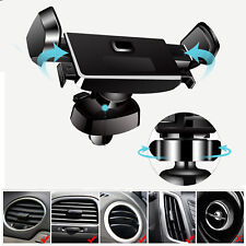 Universal 360° Rotation PC+ABS Car Back Air Vent Mount Mobile Phone Holder Mount