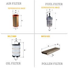 WIX AIR POLLEN OIL & FUEL Filter Service Kit WA9548,WP9189,WL7468,WF8325