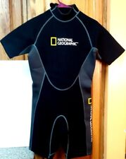 Brand New National Geographic Scuba, Surf,Snorkel, Wetsuit, Shorty Mens sz Small