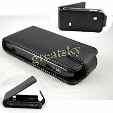 Amazing Flip Leather Hard Skin Pouch Case Cover For Sony Xperia tipo dual ST21i