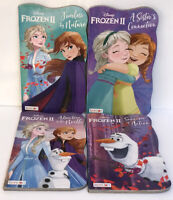 4 New Frozen II 2 Disney Board Books Elsa Anna Olaf Kids Toddler Books