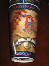 BOSTON REDSOCKS HOLOGRAPHIC TUMBLERS/CUPS 4 NEW