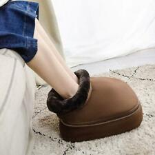 ARONT Shiatsu Foot and Back Massage Pillow with Heat, Foot Warmer Boot Kneading