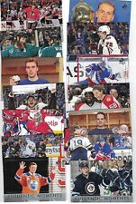 "16-17 SPA ""AUTHENTIC MOMENTS"" COMPLETE 15 CARDS #101-115 GRETZKY MATHEWS McDAVID"