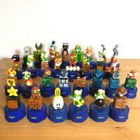 Super Mario Brothers Bros Pepsi Dots Bottle Cap Figure 30 Complete Set Nintendo