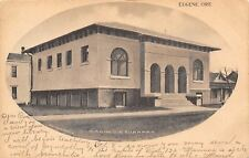 Eugene OR Oval Portal: Carnegie Library~Brick Foundation~Masonry Window c1906
