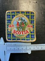 """Old Scotia Ale Embroidered Patch 3""""  inches Beer Halifax Nova Scotia"""