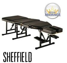 Royal Massage Sheffield Elite Professional Portable Chiropractic Table, Charcoal