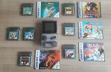 Gameboy Color + 7 Spiele, Game Boy Color + Tarzan, Asterix, Yu Gi Oh usw.