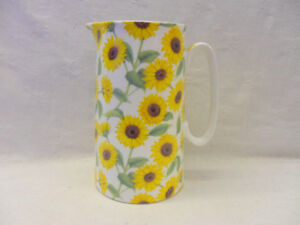 Sunflower large jug by the Abbeydale Collection