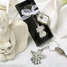 100 Guardian Angel Key Ring Favors Wedding Baptismal Christening Communion Favor