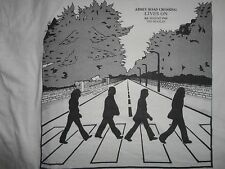 Vintage Beatles Abbey Road Crossing Lives On t Shirt Adult M Nice Free US Ship