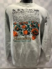 Vintage HARTSBURG Missouri's Pumpkin Patch Sweat Shirt Men's Size XL