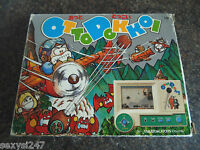 WATCH OUT ! OTTO DOKKOI TAKATOKU TABLETOP HANDHELD LCD GAME 1980s BOXED SCARCE