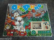 ¡ Cuidado! Otto dokkoi Takatoku Tablero Handheld Lcd Game De 1980 En Caja Escaso