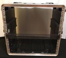 "PA DJ Portable Audio Equipment Cube Rack Mount Storage Case 19"" Stage 10u Server"