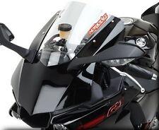 2015-2016 Yamaha R1 R1M Hotbodies Dual Radius GP Double Bubble Windshield -CLEAR