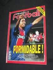 FRANCE FOOTBALL N° 2611 1996 PSG PARIS BORDEAUX EN FINALE COUPE EUROPE C1 C3