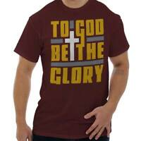 To God Be The Glory Christian Religious Jesus Christ Gift T Shirt