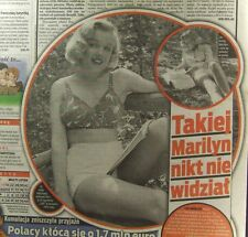 KINGA RUSIN  newspaper from Poland 2009, Marilyn Monroe
