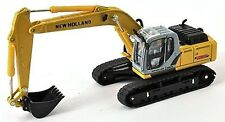 New Holland E215B Tracked Excavotor 1/87th Scale Yellow/Black/Grey Tracked 48 Po