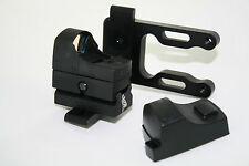 Mini Micro Red Dot Scope Sight & Mount for your Archey Bow fit All Compounds