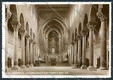Palermo Monreale Foto FG cartolina D9524 SZI