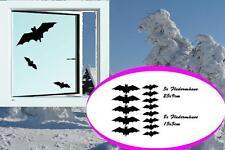 Fledermaus Fensteraufkleber Vogel Wintergarten Fenster Schutz Sticker Aufkleber