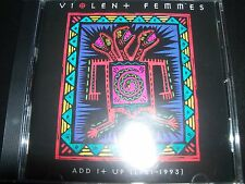 Violent Femmes Add It Up 1981 - 1993 Greatest Hits Best Of CD – Like New
