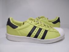 244e4f85408 adidas Originals Men s Superstar Boost Shoes Pastel Green Size 12