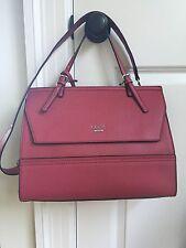 Guess Bellingham Handbag Satchel Cherry Red  NWT