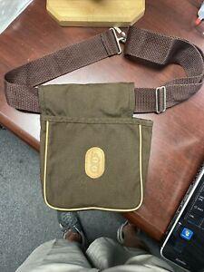 Vintage Bob Allen Shell Bag -Trap Skeet Range Pouch Hunting Shotgun - With Belt