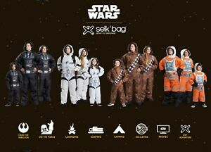 Selk'Bag Star Wars Sleeping Suits - Great for Camping and Outdoors!