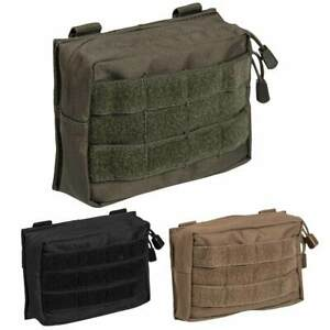 MOLLE Utility Belt Pouch Zipped Airsoft Security Tactical Army Webbing 17 x 12cm