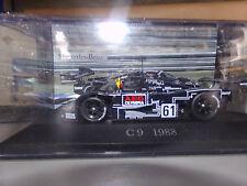 voiture miniature ixo   1/43  MERCEDES C9 SAUBER LE MANS 88