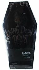 "Living Dead Dolls 31 Don't Turn Lights UMBRAL 10"" DOLL Mezco Toys Gothic LDD"
