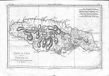 Antique maps, Carte de l'isle de la Jamaique par M Bonne