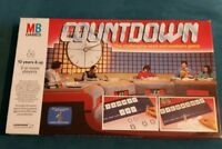 COUNTDOWN Words & Numbers Board Game MB Games 1987 Vintage Channel 4 Complete