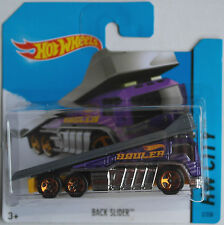 Hot Wheels - Back Slider Autotransporter violettmet./dunkelgrau Neu/OVP